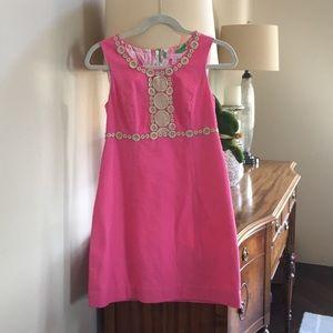 Lilly Pulitzer Rosie shift dress hot pink